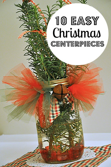 easy christmas centerpieces you can make  mom prepares, Beautiful flower