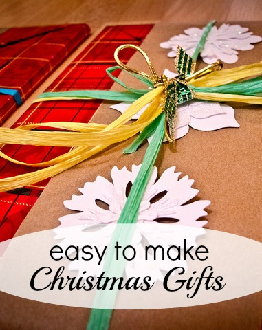 Easy to Make Christmas Gifts