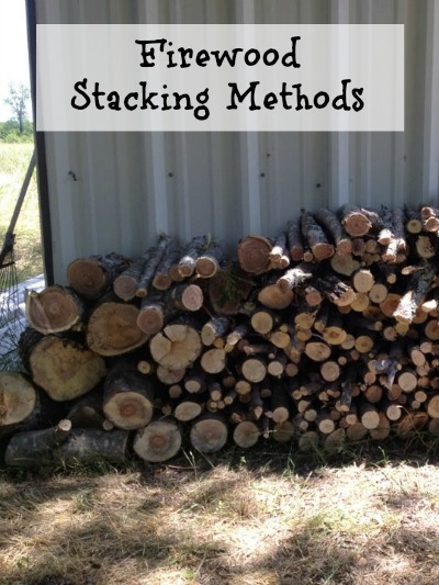 Firewood Stacking Methods