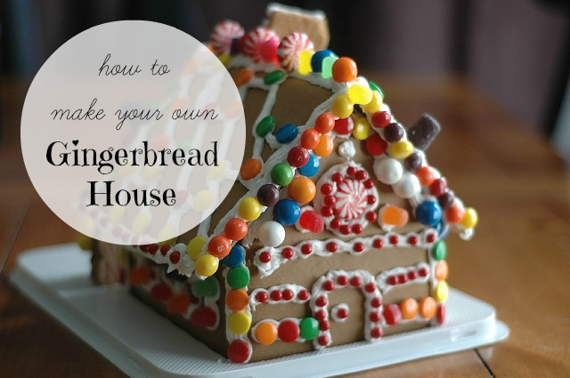 How to Make a Gingerbread House - Mom Prepares