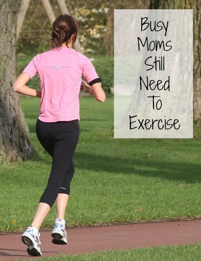 Just because you are a busy mom doesn't mean you shouldn't make time to exercise! Photo by Peter van der Sluijs