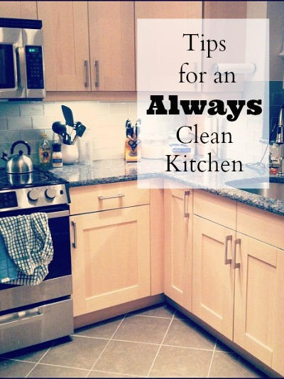 Tips for an Always Clean Kitchen