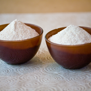 No matter what mill you use, you can create beautiful, healthy flours like these. Photo by Jaaq