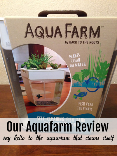 Aquafarm Review - Self Cleaning Aquarium