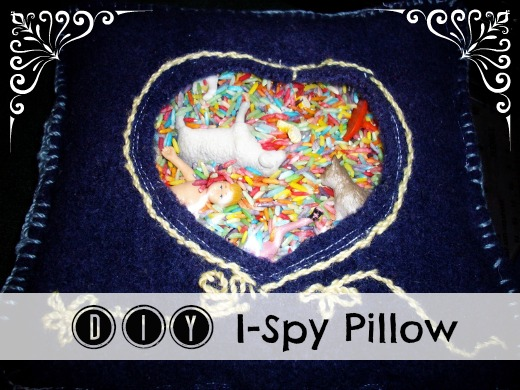 DIY I-Spy Pillow