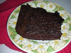 Brownies are delicious any time of year! Photo by Aprille Ross
