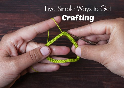 Crocheting is an easy craft to learn. Photo: Lorna Watt / CC by 2.0