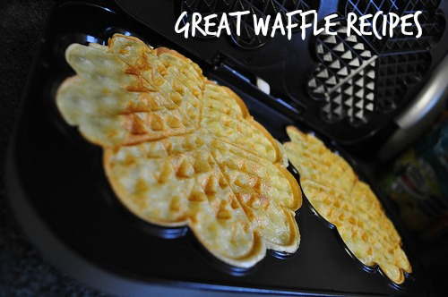 A waffle, hot on the iron. Flickr photo by nickydizzle