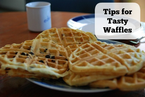 Waffles ready for toppings! Flickr photo by jonathan mcintosh
