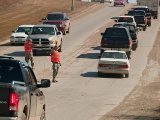 You may not have time to run home to gather supplies in an evacuation. Photo by Michael Rieger