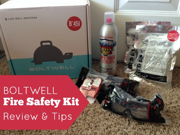 Boltwell Fire Kit Review and Fire Safety Tips