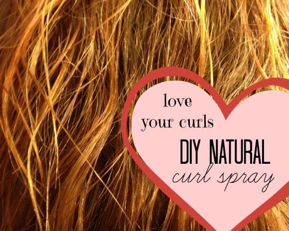 DIY Natural Curl Spray