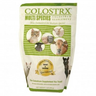 Colostrx multi-species colostrum replacer image by allvetsupply.com