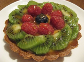 You can't go wrong with a classic kiwi tart. Photo by Kimberly Vardeman