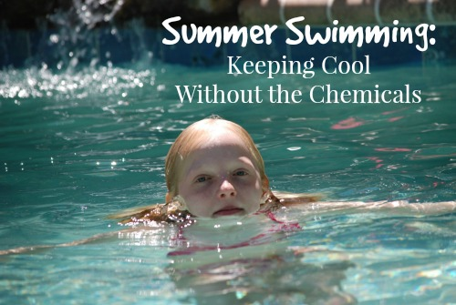 Have fun in the pool without suffering the aftereffects of chlorine? Photo: hortongrou / CC by 2.0