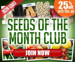 Seeds of the Month Club - Special 25% Off Discount!