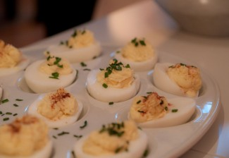 Deviled eggs have many variations and are quite tasty! Photo by Michele Ursino