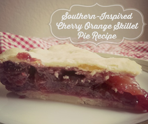 skillet cherry orange pie