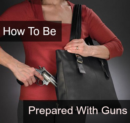 be prepared with guns