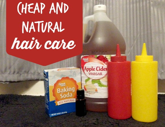 DIY Cheap and Natural Hair Care. Wash with baking soda, rinse with apple cider vinegar and tea tree oil. How I mix and use it!