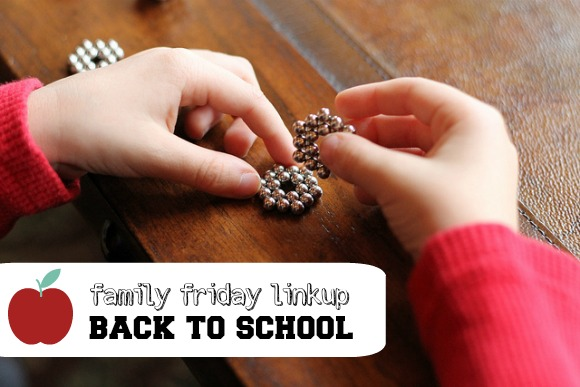 Family Friday Linkup Back to School