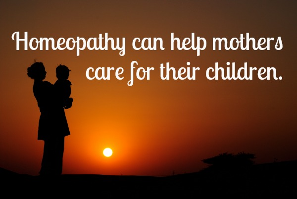 homeopathy can help