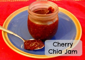 This cherry chia jam is lovely in yogurt! Photo: Tricia Edgar