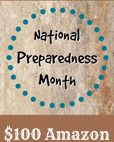 National Preparedness Month Giveaway at MomPrepares