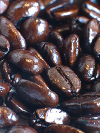 Robusta coffee beans are usually healthier than Arabica beans. Photo by Ben Frantz Dale