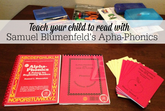 Samuel Blumenfeld's Alpha-Phonics Curriculum Review