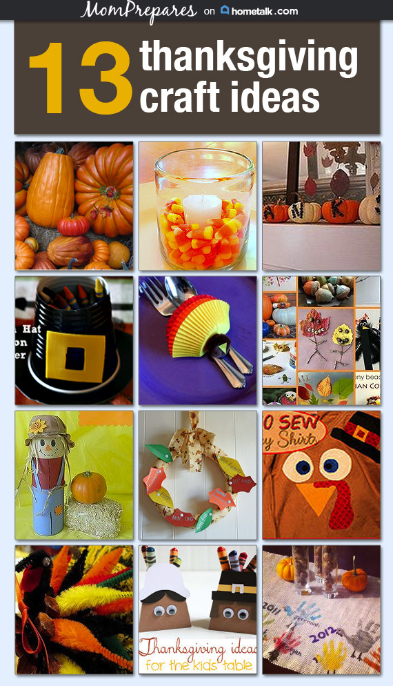 13 Thanksgiving Craft Ideas for Kids