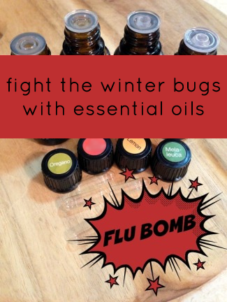 Essential Oil Flu Bomb Recipe