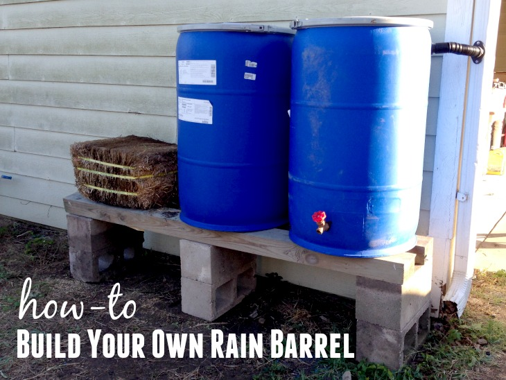 How to Build a Rain Barrel for Under $30