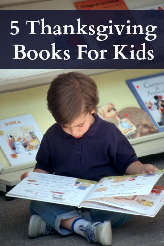 Five Thanksgiving Books for Kids
