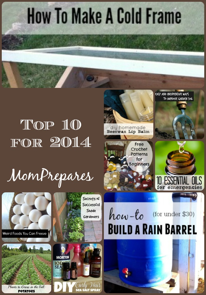 MomPrepares Top 10 Posts for 2014