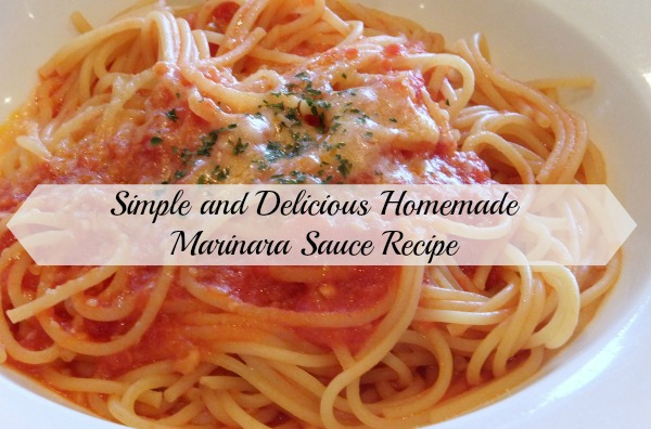 Simple and Delicious Homemade Marinara Sauce Recipe