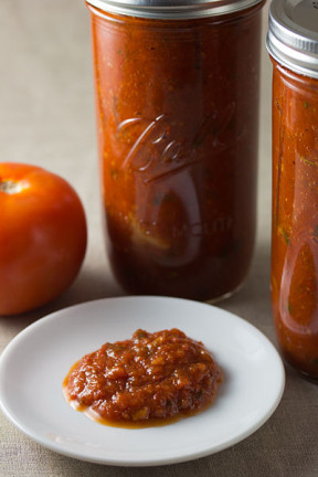 You can make your sauce as chunky or creamy as you like! Photo by Vegan Baking.net