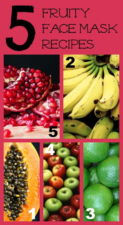 5 Fruit Face Mask Recipes for Valentine's Day Beauty