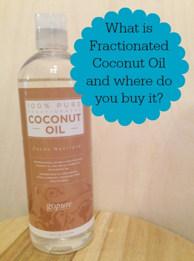 What is Fractionated Coconut Oil used for and where do you buy it?