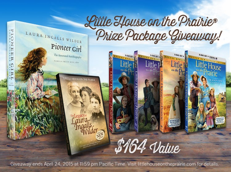 Little House on the Prairie Giveaway