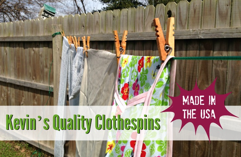 Kevin's Quality Clothespins – Made in the USA