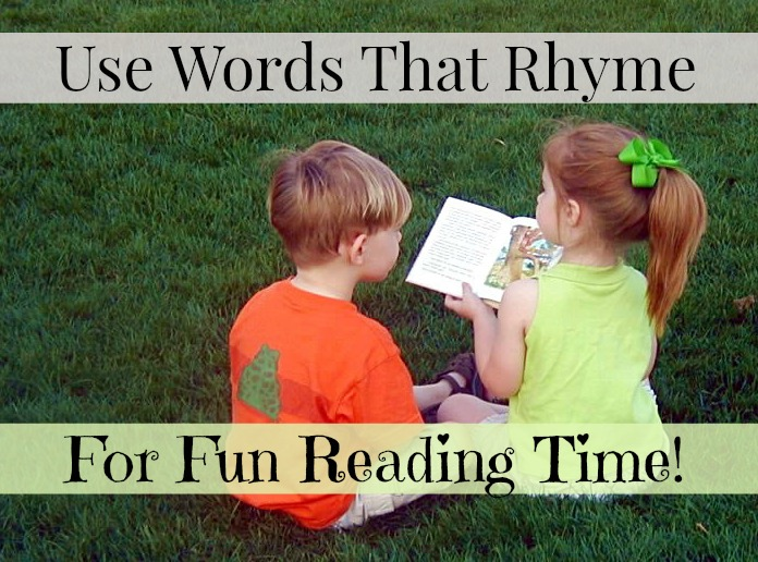 Use Words That Rhyme For Fun Reading Time