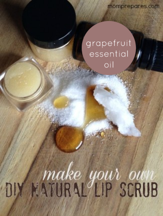 Easy DIY Natural Lip Scrub Recipe