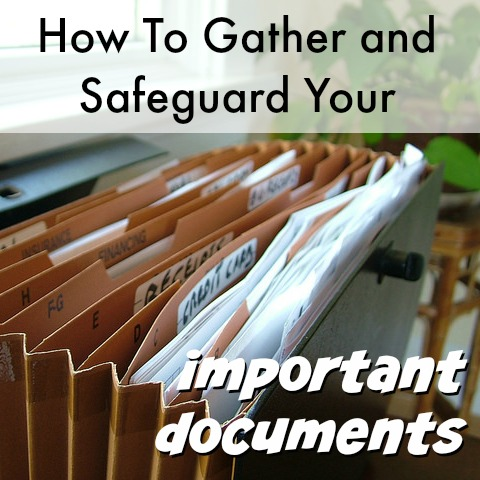 How To Safeguard Important Documents