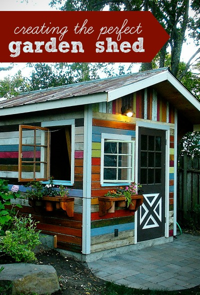 Creating a perfect garden shed