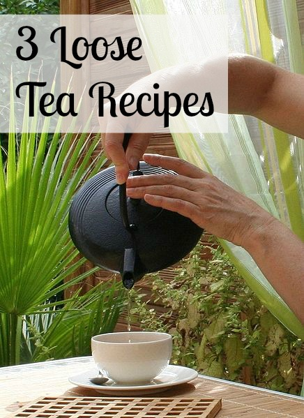 loose leaf tea recipes