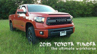 2015 Tundra Toyota Truck for Homesteaders