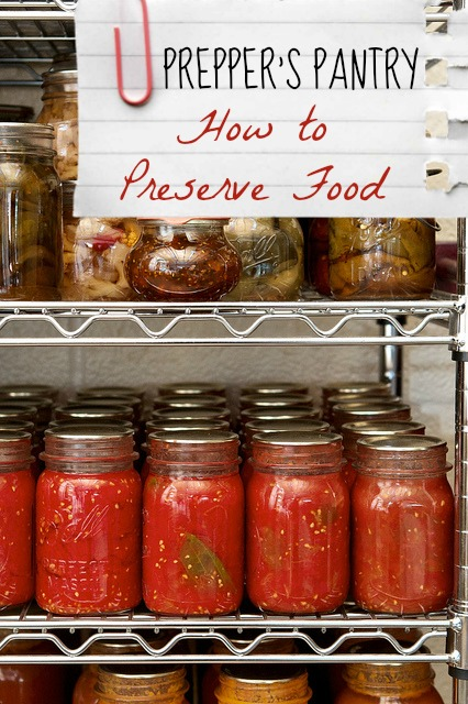 Prepper Pantry: How to Store Food