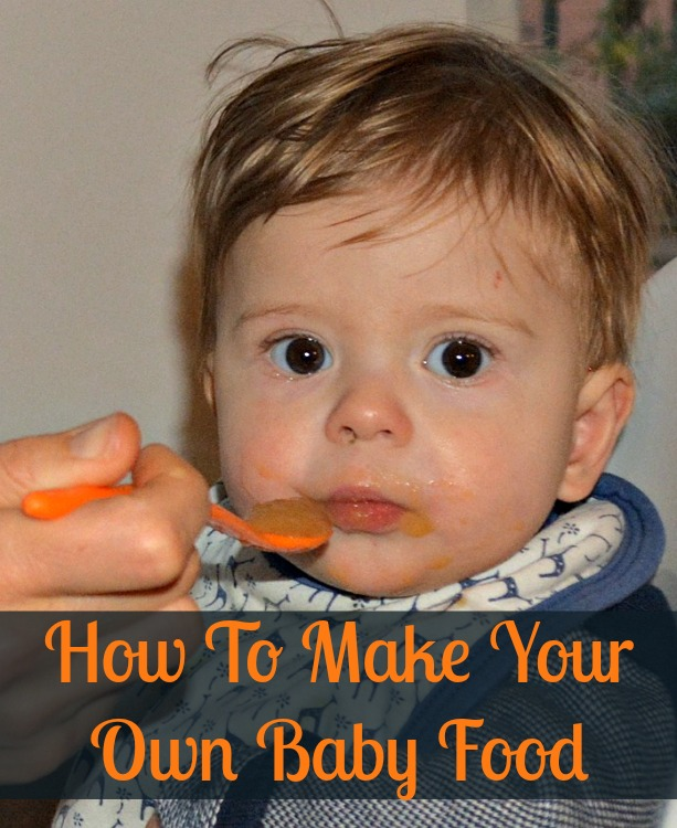 Homemade Baby Food for Preppers