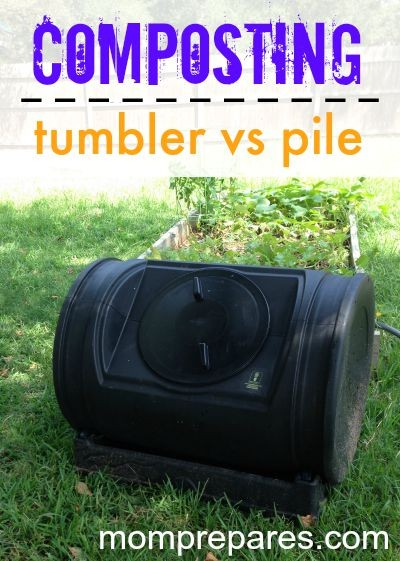 Compost Tumbler vs Compost Pile (or Bins)